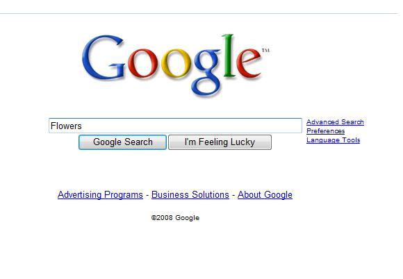 Google Search Box Prior to 9/9/09